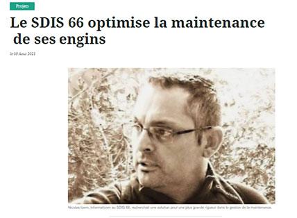 SDIS 66 GMAO