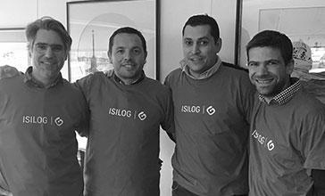 L'équipe ISILOG #DigitalRace